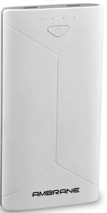 Best price on Ambrane P-2080 16000mAh Power Bank in India