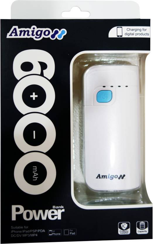 Best price on Amigo AH-20WB Power Bank in India