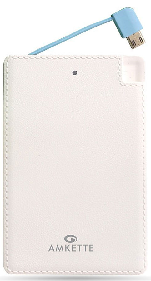 Best price on Amkette Fuel Card 2500mAh Power Bank in India