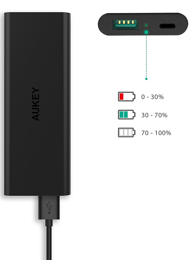 Best price on Aukey PB-N30 3600mAh Power Bank in India