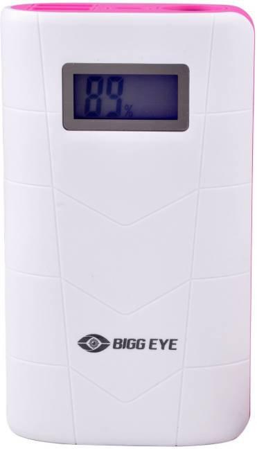 Best price on Bigg Eye PB-02 10000mAh Digital Display Power Bank in India