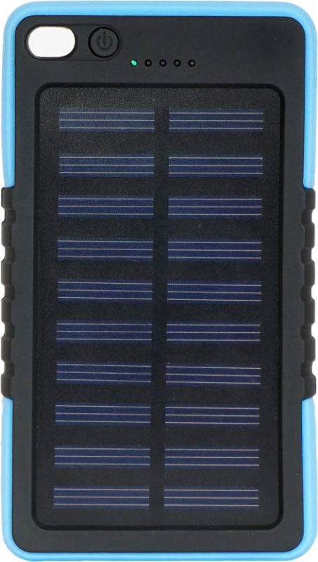 Best price on Bingo K3 Solar, Water Proof With LED Torch Light 6000mAh Power Bank in India