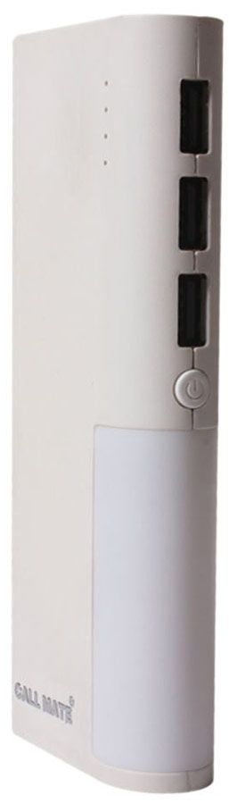 Best price on Callmate 3U Light House 10400mAh Power Bank in India