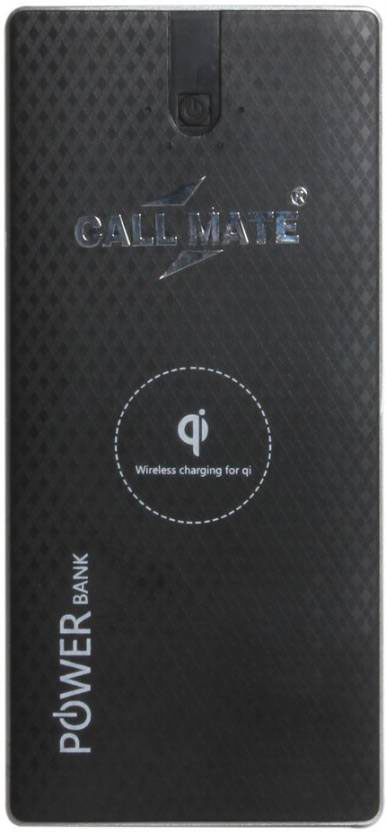 Best price on Callmate 8000mAh Qi Wireless Power Bank in India
