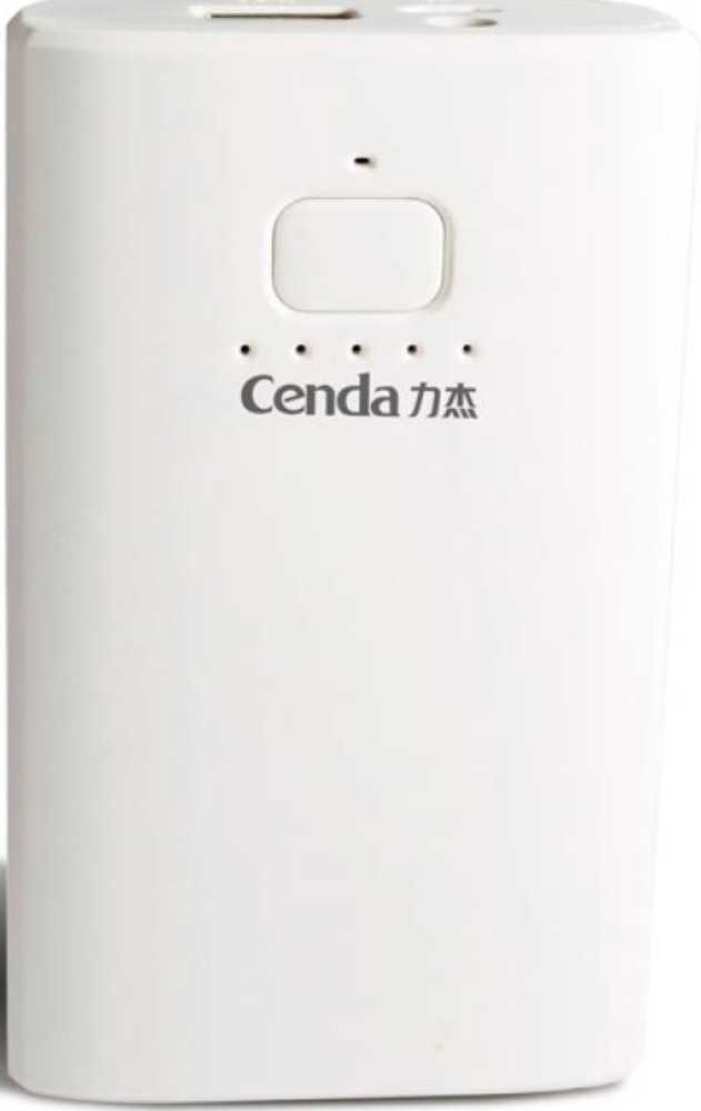 Best price on Cenda M60 6600mAh Power Bank in India