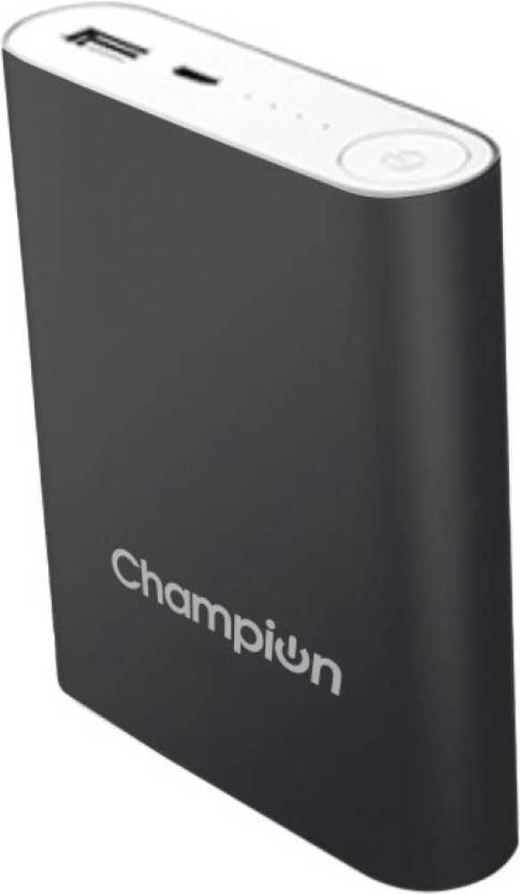Best price on Champion Mcharge 4C-M 10400mAh Power Bank in India