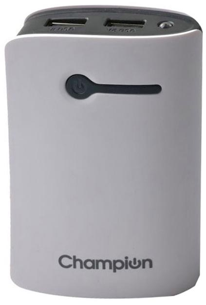 Best price on Champion Mcharge 3C 7800mAh Power Bank in India