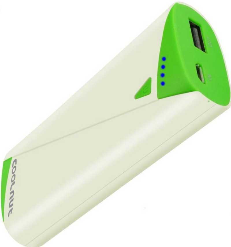 Best price on Coolnut CMPBE-20 5200mAh Power Bank in India