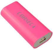 Best price on Corseca DMB3754 2400mAh Power Bank - Front in India