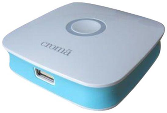 Best price on Croma CRCA0063 5200mAh Power Bank in India