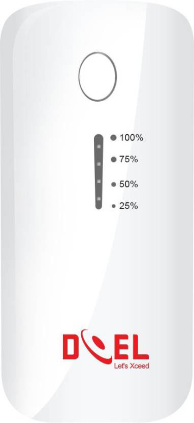 Best price on Doel DI035 5200mAh Power Bank in India