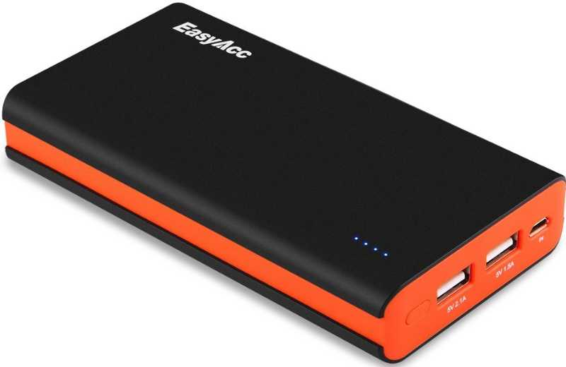Best price on EasyAcc Classic 15000mAh Power Bank in India