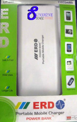 Best price on ERD LP-208 11000mAh Power Bank in India