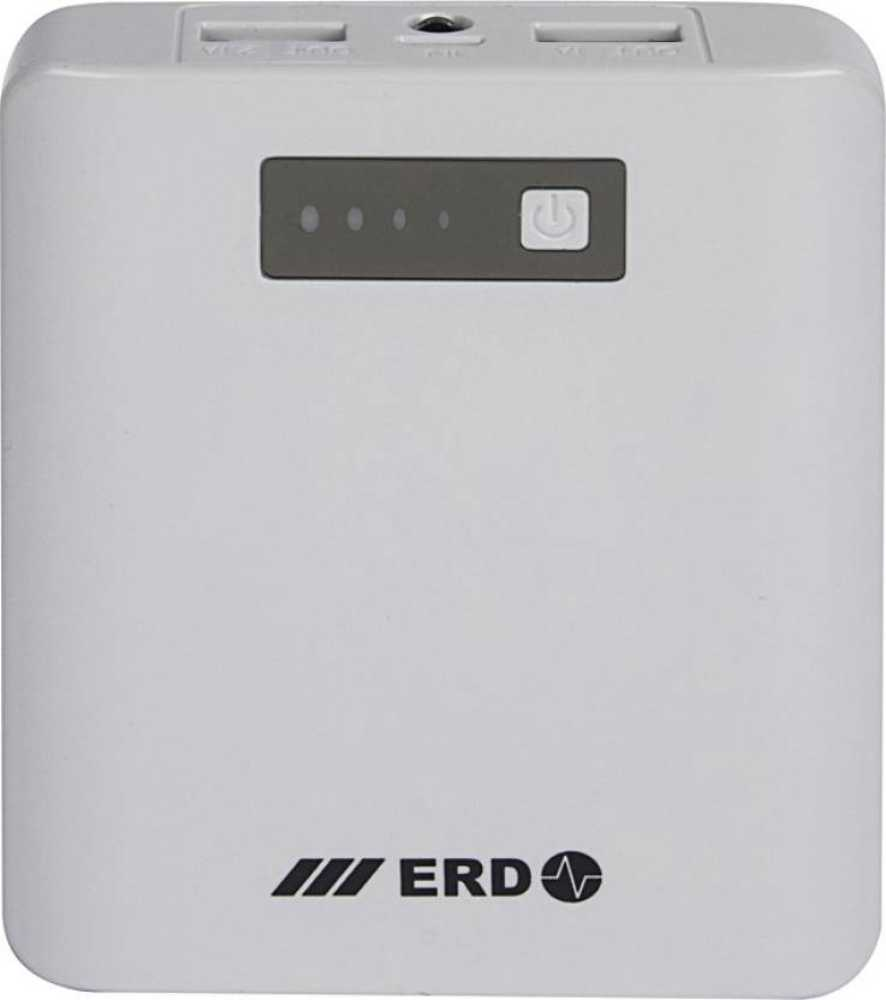 Best price on ERD PB-207C 10400mAh Power Bank in India