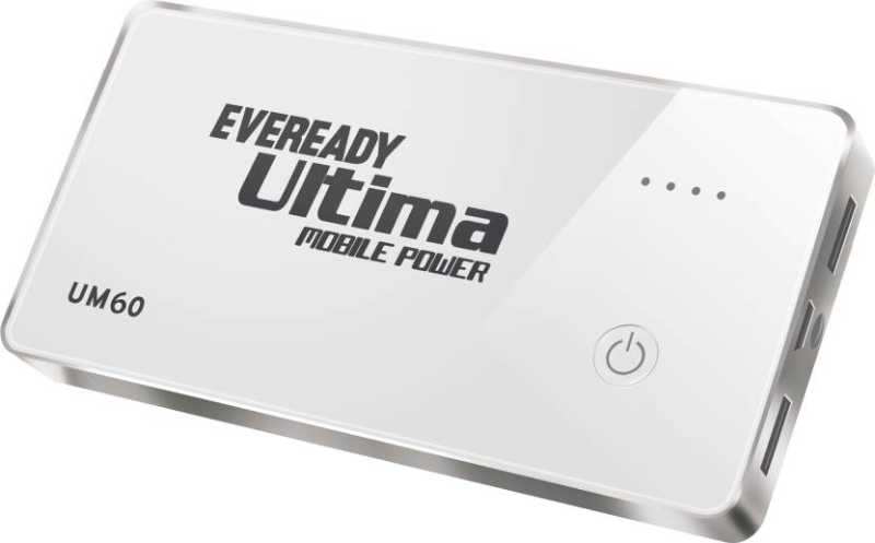 Best price on Eveready UM60 6000 mAh Power Bank in India