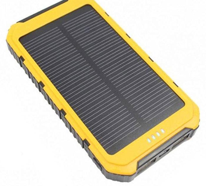 Best price on Gizmobitz 12000mAh Solar Power Bank in India