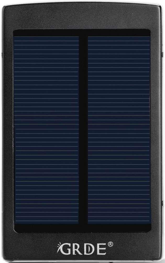 Best price on GRDE Solar 10000mAh Power Bank in India