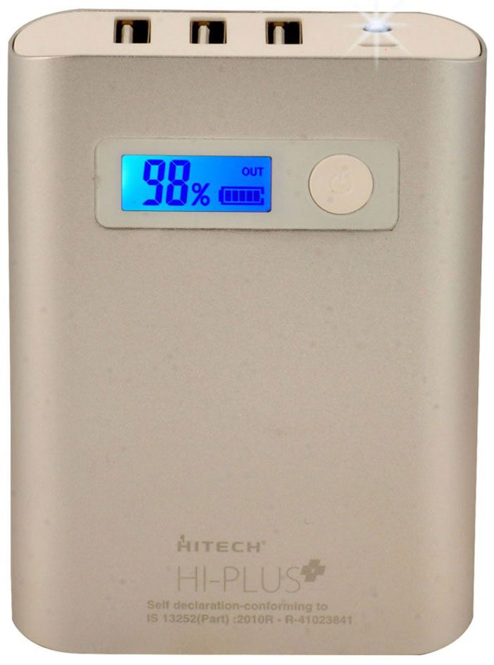 Best price on Hitech HI-PLUS H100 10400mAh Power Bank in India