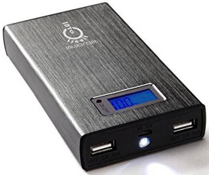 Best price on Intocircuit INT-48 15000mAh Power Bank in India