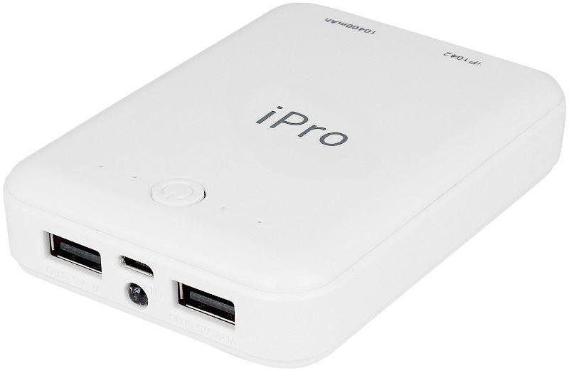 Best price on iPro IP1042 Powerbank 10400 mAh Power Bank in India