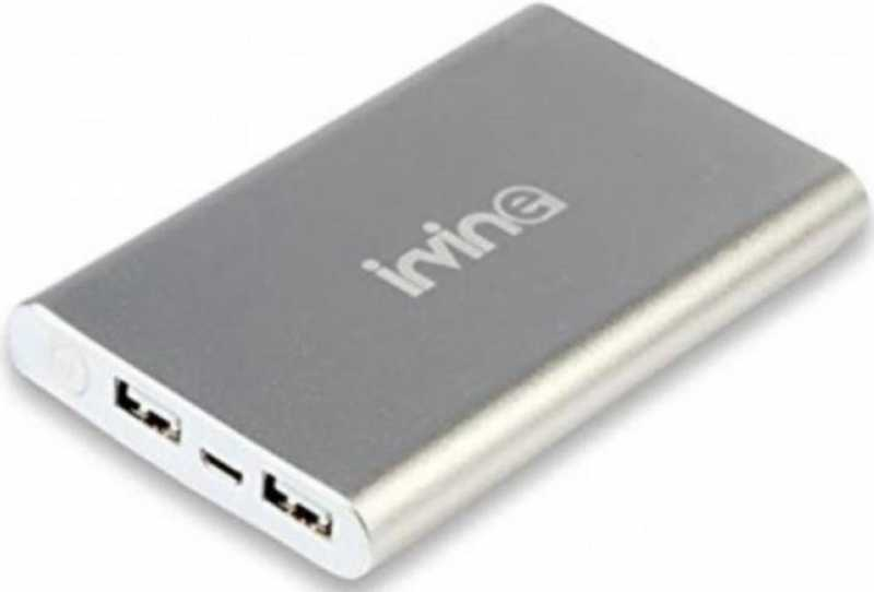 Best price on Irvine P10A 10000mAh Power Bank in India