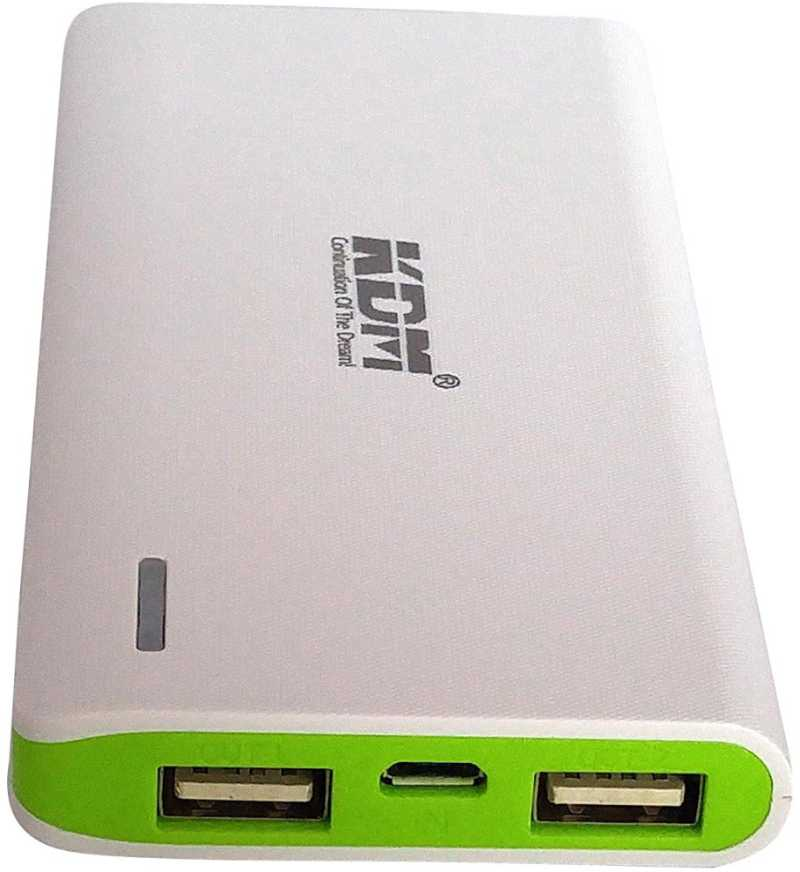 Best price on KDM PB-58 5600mAh Power Bank in India
