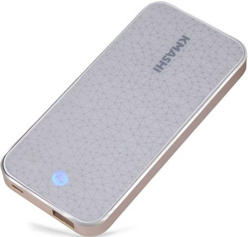 Best price on KMASHI MP822 6000mAh Power Bank in India