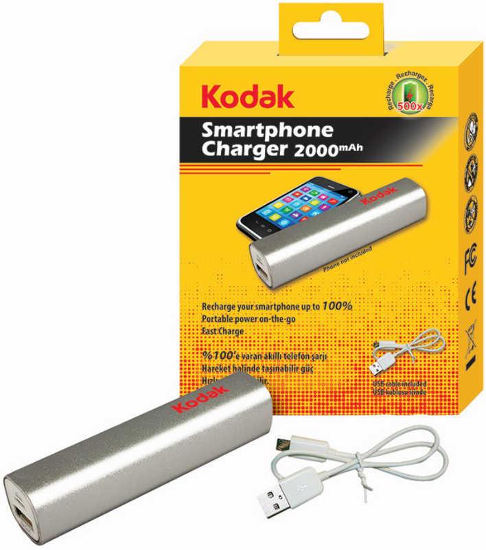Best price on Kodak 30411043-b 2000 mAh Li-Ion Power Bank in India