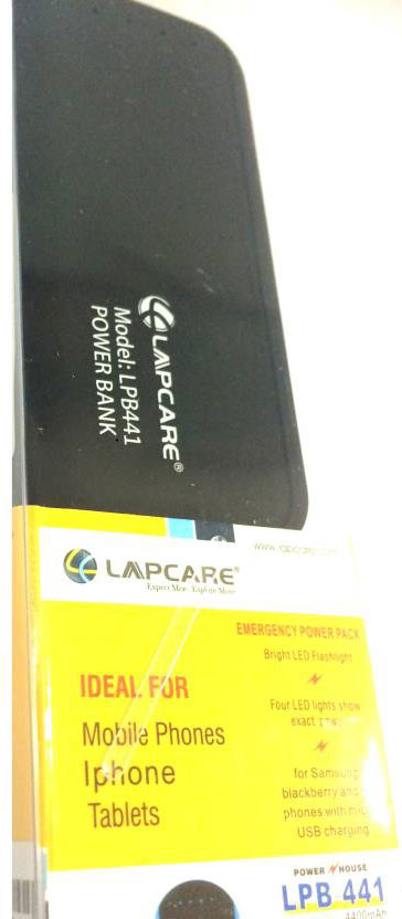 Best price on Lapcare LPB-441 4400mAh Power Bank in India