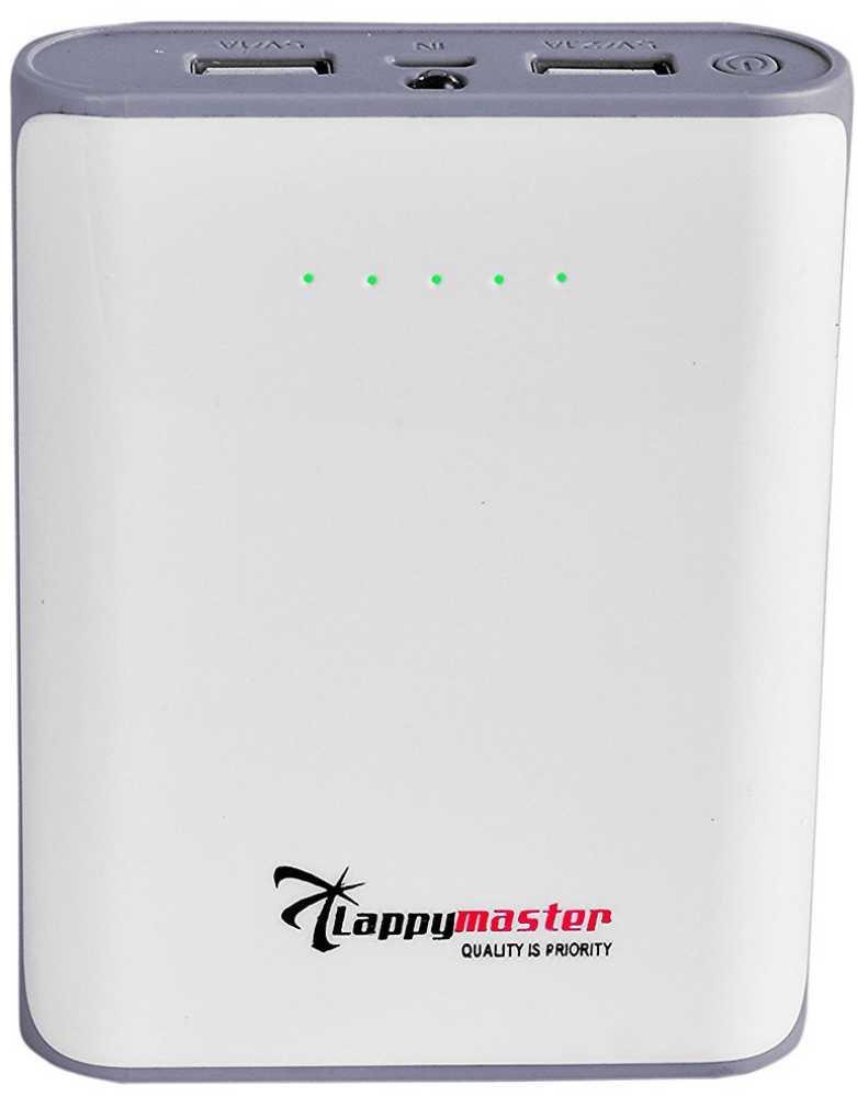 Best price on Lappymaster PB-04GW 10400mAh Power Bank in India