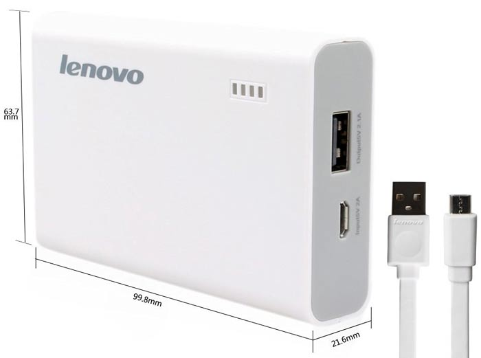 Best price on Lenovo PA7800 7800mAh Power Bank in India