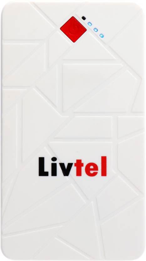 Best price on Livtel LIV-1007 10000mAh Power Bank in India