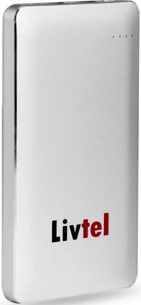Best price on Livtel LIV-801 8000mAh Power Bank in India