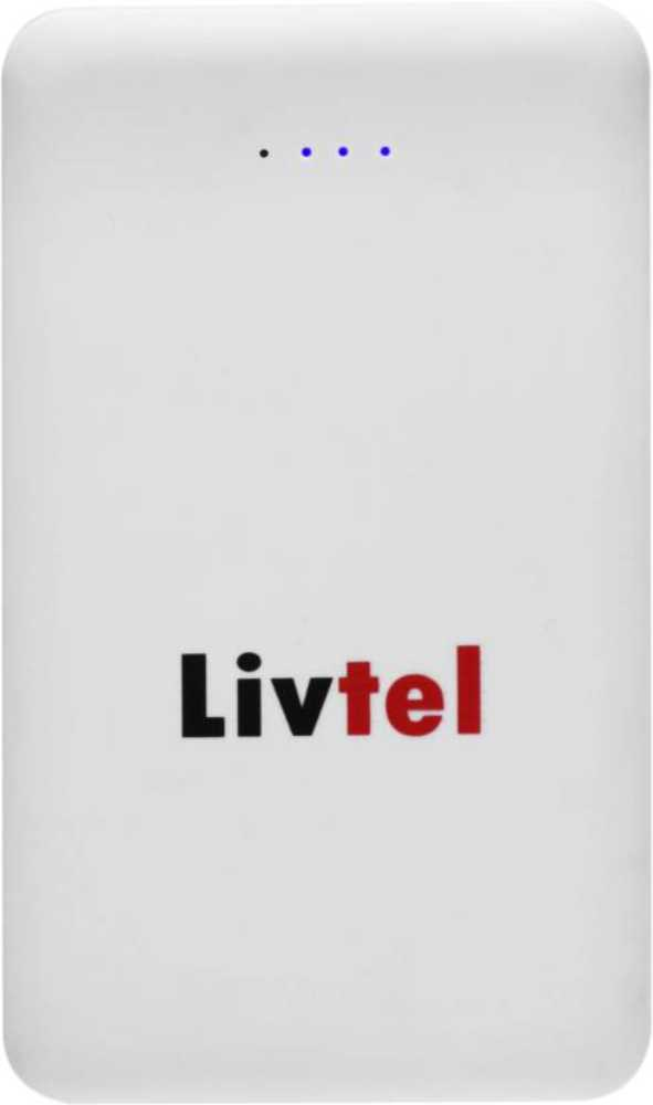 Best price on Livtel LIV-804 8000mAh Power Bank in India