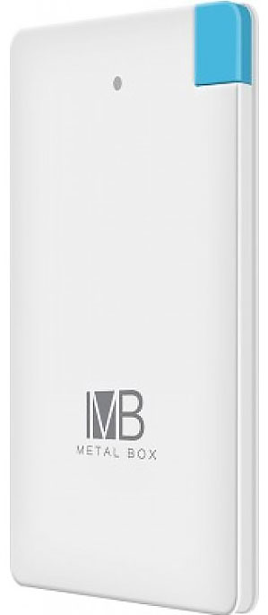 Best price on Metal Box MBPB108 2500mAh Power Bank in India