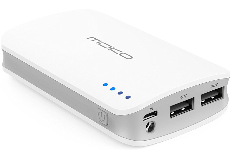 Best price on MoKo 9000mAh Portable Power Bank in India