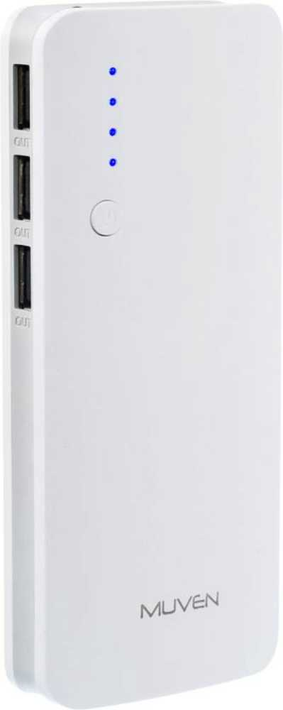 Best price on Muven C500 10000mAh Power Bank in India