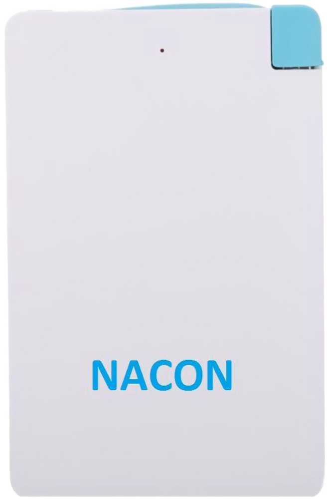 Best price on Nacon 2600mAh Power Bank in India