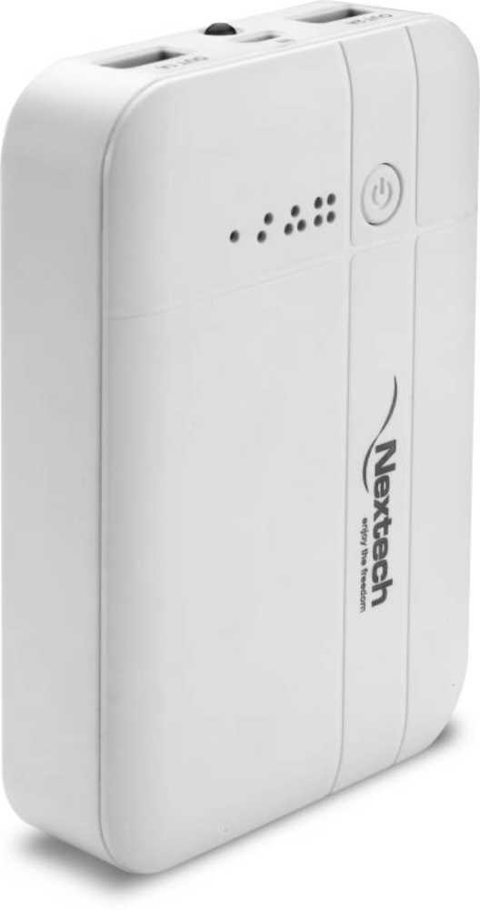 Best price on Nextech PB1050W 10400mAh Power Bank in India