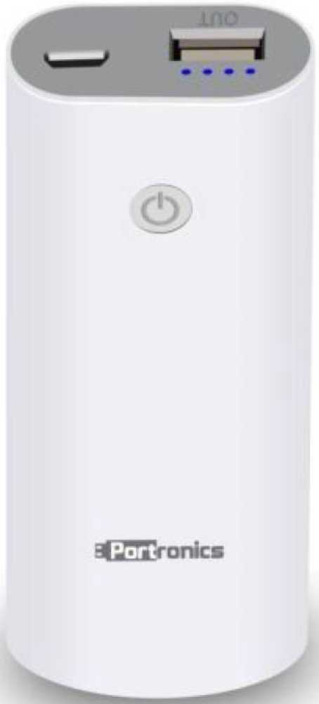 Best price on Portronics Drum POR345 5200mAh Power Bank in India