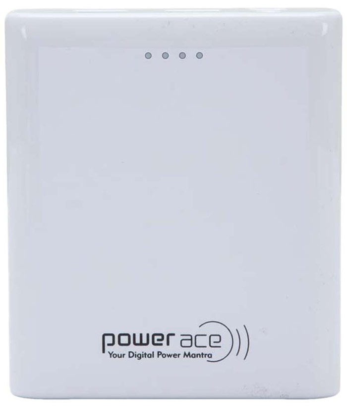 Best price on Power Ace PRP-10400A 10400mAh Power Bank in India