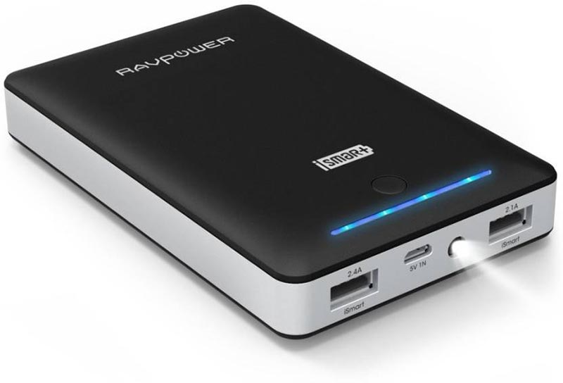Best price on RAVPower RP-PB19 16750mAh iSmart Technology Power Bank in India