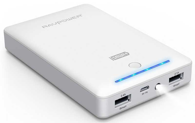 Best price on RAVPower RP-PB19 Deluxe 16000mAh Power Bank in India