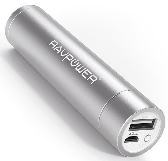 Best price on RAVPower RP-PB24B 2nd Gen Mini 3000mAh Power Bank in India