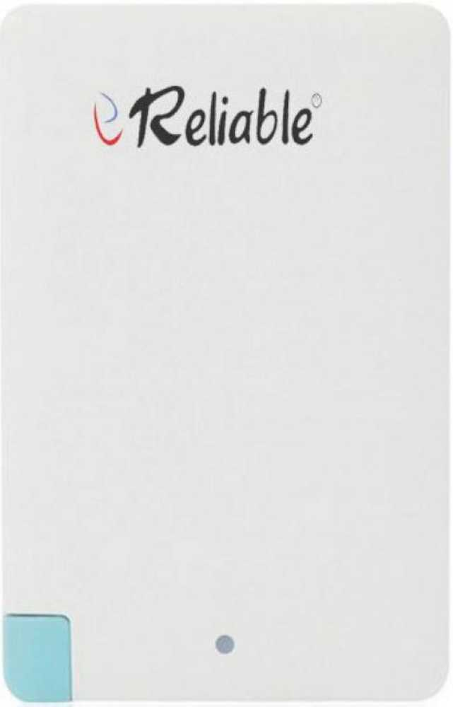 Best price on Reliable Credit Card 2600mAh Power Bank in India