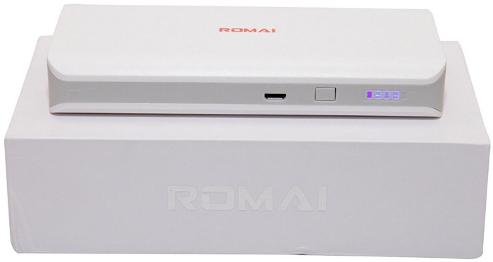Best price on Romai T1 10000mAh Power Bank in India