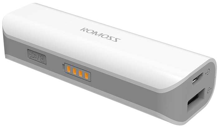 Best price on Romoss 6000mAh Dual USB Power Bank in India