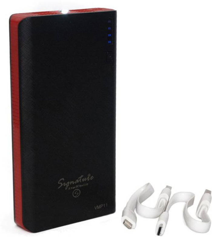 Best price on Signature VMP11 12800mAh Power Bank in India