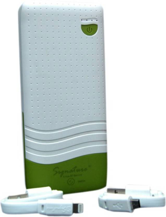 Best price on Signature VMP-24 10400mAh Power Bank in India