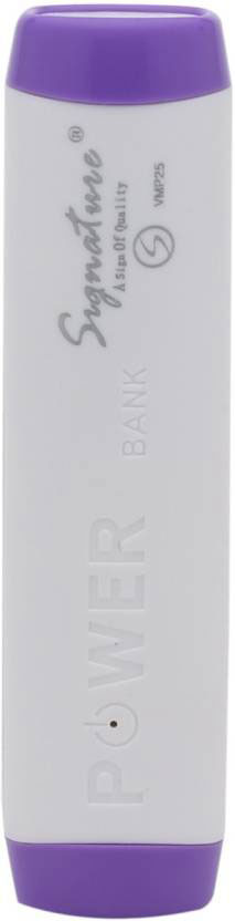 Best price on Signature VMP-25 2000mAh Power Bank in India